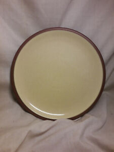 Denby-Juice-Lunch-Plate-Lemon-Yellow-9-034-VGC