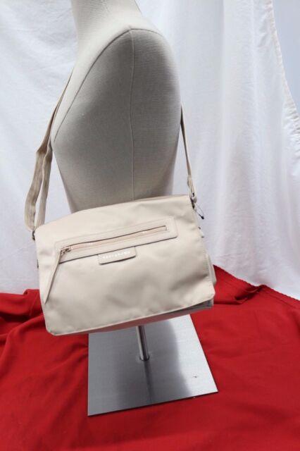 1812c Longchamp Nylon Le Pliage Neo Women's Messenger Bag Beige