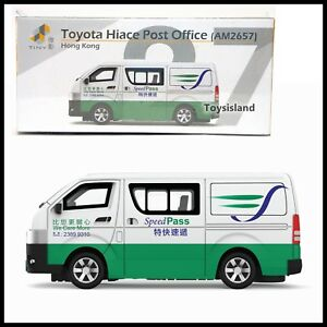 Tiny Hong Kong City 27 Toyota Hiace Van Post Office Am2657 New Diecast 1 64 4895135124181 Ebay
