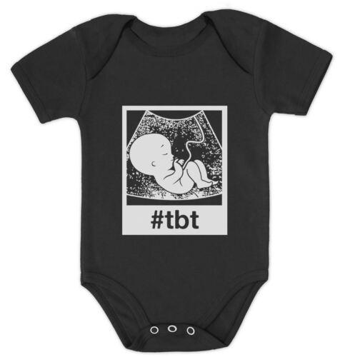 #tbt Funny Baby Bodysuit Throwback Thursday Ultrasound Baby Bodysuit Gift