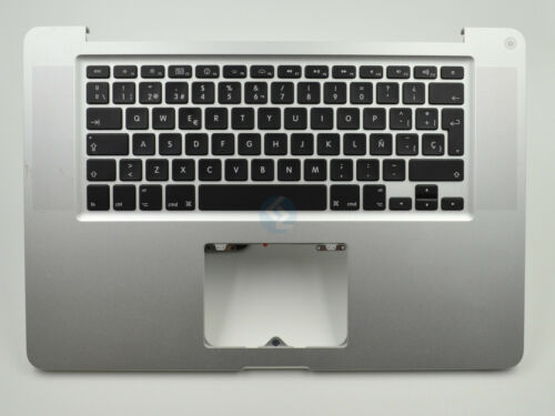 """Grade B Top Case Spanish Keyboard No Trackpad for Macbook Pro 15/"""" A1286 2011"""