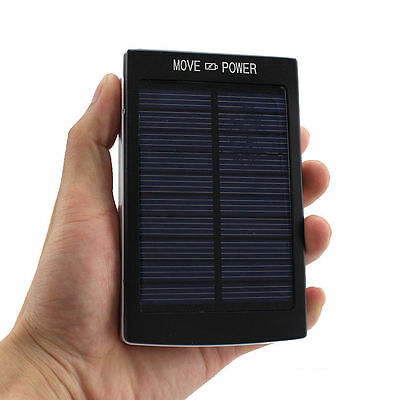 30000mAh Dual USB Portable Solar Battery Charger Power Bank For Cell Phone