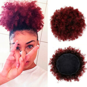 6-034-Afro-Ponytail-Puff-Drawstring-Wrap-Synthetic-Curly-Hair-Bun-Updo-Chignon