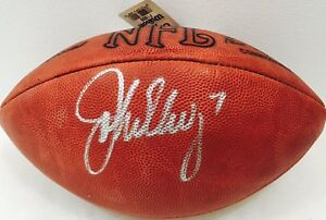 Image is loading John-Elway-Signed-Authentic-NFL-Football-Paul-Tagliabue- bf1ac2490