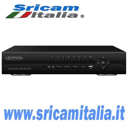 NVR16 canali ONVIF Registrazione HD Supporta P2P H.264  Registrazione audio