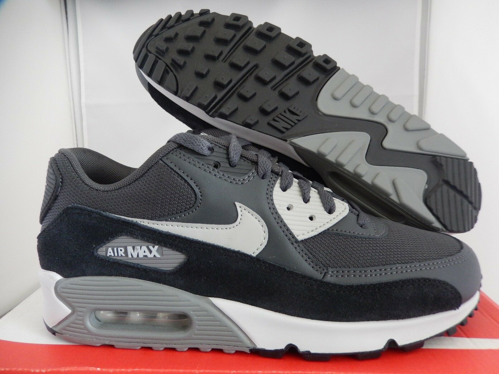 NIKE AIR MAX 90 ESSENTIAL ANTHRACITE-GRANITE-BLACK Price reduction Wild casual shoes