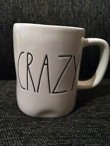 Rae-Dunn-By-Magenta-CRAZY-Mug-NEW-large-letters-artisan-farmhouse-large-letters