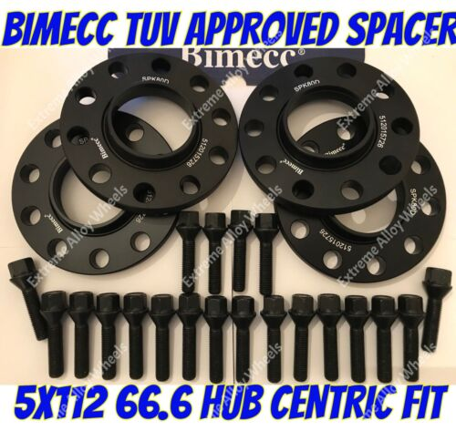 Tornillos M14X1.25 Para BMW 5 G30 G31 66.6 BB Espaciadores Rueda Aleación 20mm X 4