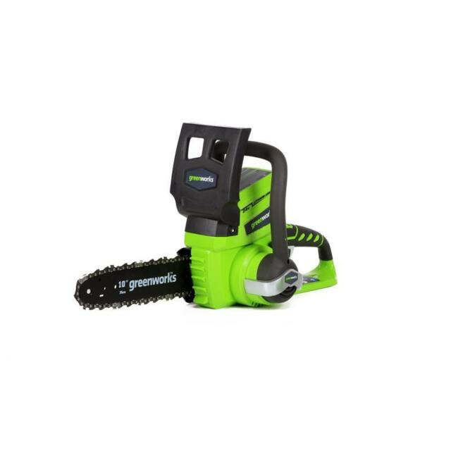 GreenWorks G24 Cordless Chain Saw - Tool Only #2000102