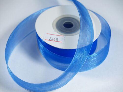 25mm x 20m Organza Ribbon Lots Of Colours
