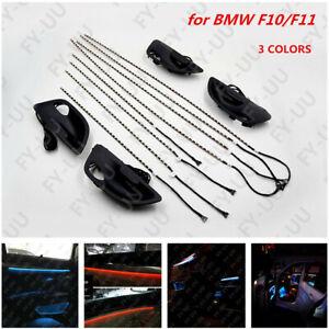 3-Colores-Puerta-Interior-del-Coche-luz-led-ambiente-atmosfera-Decoracion-Para-BMW-F10-F11-amp
