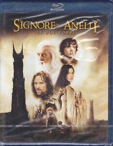 Blu-ray + Dvd Box IL SIGNORE DEGLI ANELLI - LE DUE TORRI nuovo sigillato 2002