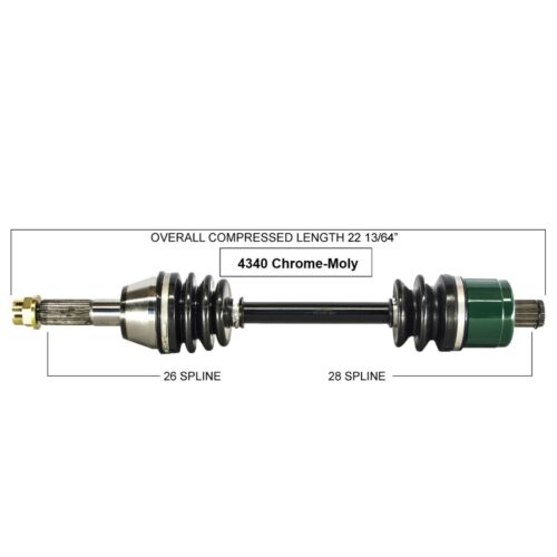 REAR RIGHT COMPLETE CV JOINT AXLE Fits POLARIS SPORTSMAN 500 TOURING 2008-2010