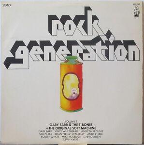 SOFT-MACHINE-GARY-FARR-amp-T-BONES-Rock-Generation-LP-Soft-Machine-1967-Demos