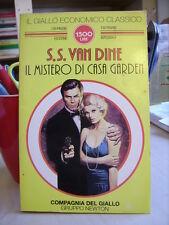 IL MISTERO DI CASA GARDEN S. S. Van Dine         Gruppo Newton  1995