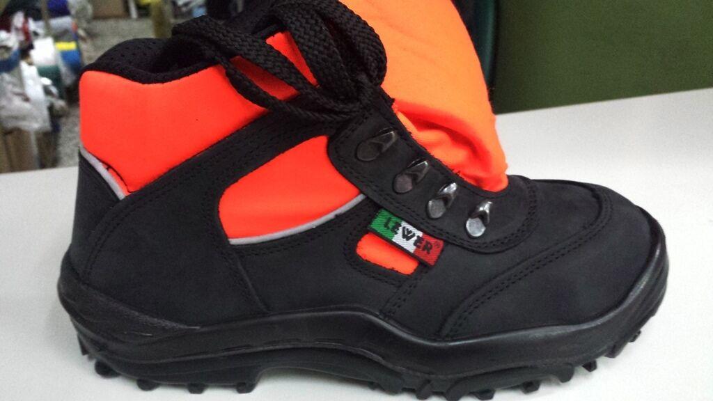 Scarpa in S3 arancio fluo 118 Croce rossa pronto lamina intervento  puntale e lamina pronto 6e5d0f