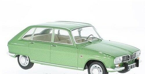 Whitebox 124023 1 24 RENAULT 16 METALLIC LIGHT GREEN 1965 (RESIN)