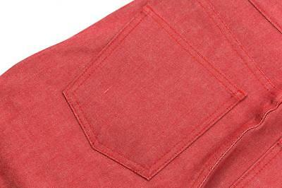 Naked & Famous Super Skinny Guy in Red Stretch Selvedge