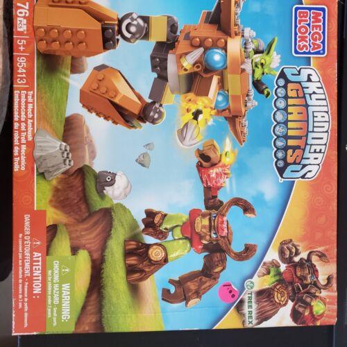 Skylanders Giants Troll Mech Ambush MEGA BLOKS 95413