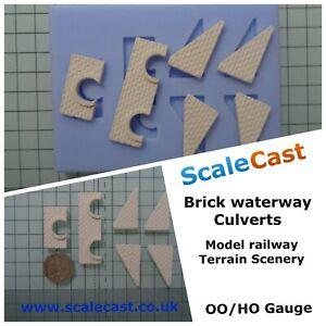 Model-Railway-WATERWAY-CULVERTS-Mould-OO-Gauge-DT35