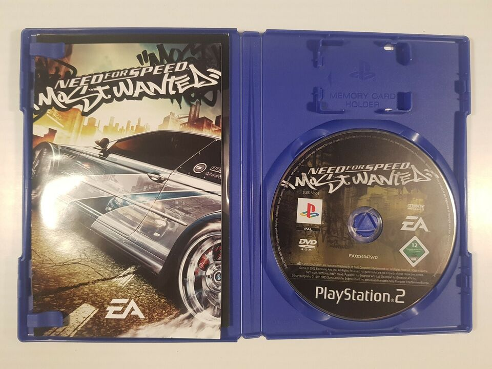 Need for speed, Most Wanted, PS2