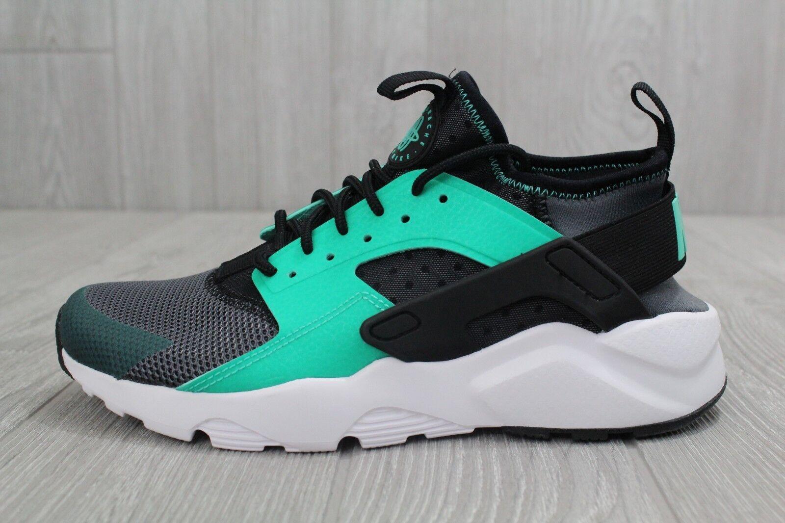 27 Nike Air Huarache Basketball Shoes Training Green Black Mens 6.5