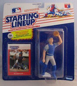1988  B.J. SURHOFF - Starting Lineup - SLU - Sports Figurine - MILWAUKEE BREWERS