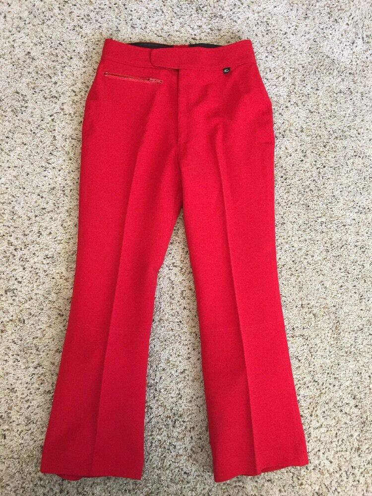 ROFFE WOMEN'S SKI  SNOWBOARD  PANTS, RED SIZE  12-Regular Kd6  authentic online