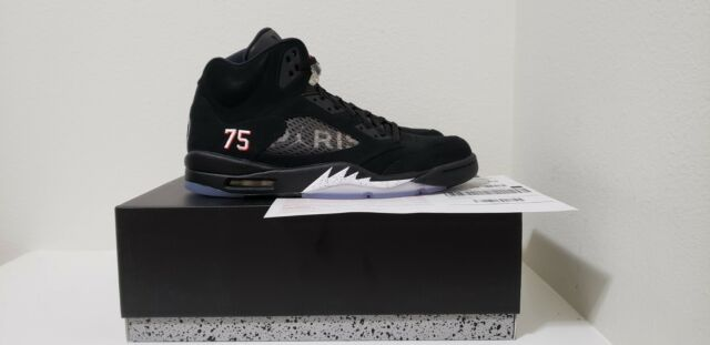 630ac8b56b4e Air Jordan Retro 5 V PSG W  Receipt Av9175 001 DS Size 13 for sale ...