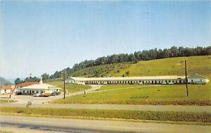 Wytheville-Virginia-1950s-Postcard-Johnson-Motel-amp-Restaurant