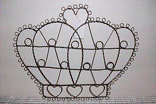 Wire Crown Card//Photo Holder