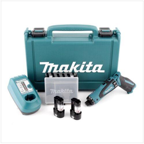 Makita DF010DSE 7.2 Volt Lithium-Ion Cordless Driver-Drill Kit Set 220V Charge