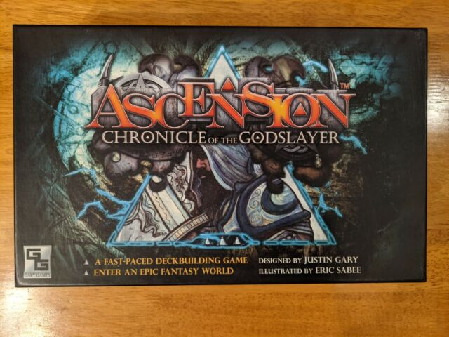 Ascension Chronicle of the Godslayer Board Game Gary Games Second Edition