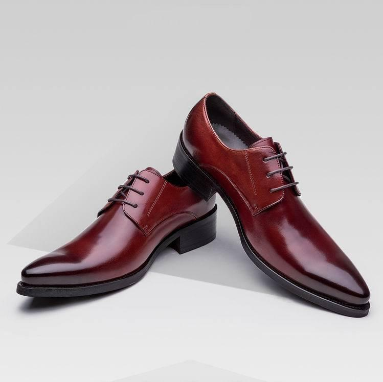 Uomo British Style Oxfords Formal Dress Business Wedding Dating Wing Tip Shoes S