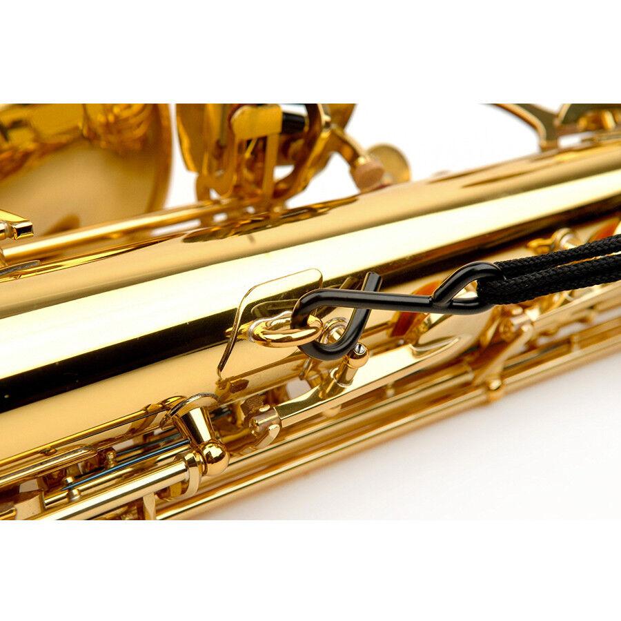 NEW Rico Saxophone Strap Soprano Alto Jazz Stripe 2 FREE SHIPPING