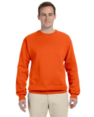 JERZEES NuBlend Crewneck Sweatshirt 50//50 Mens Fleece Crew S-3XL 562MR 562