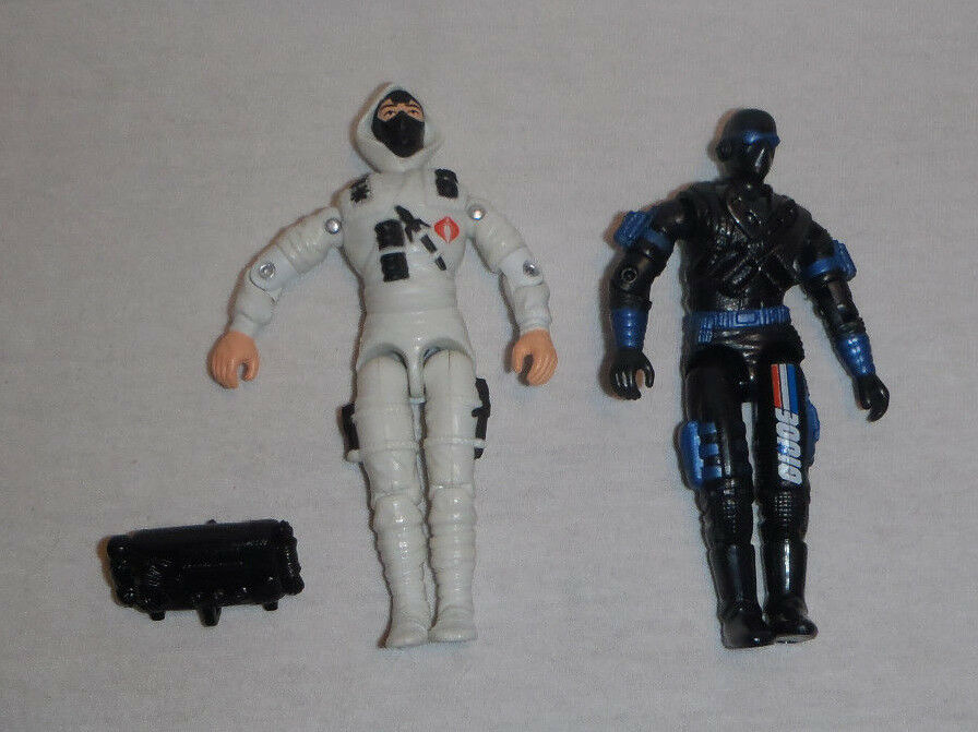 Jahr GI Joe American Hero Storm-Shadow v6 and Snake-Eyes v9 Figure Masse
