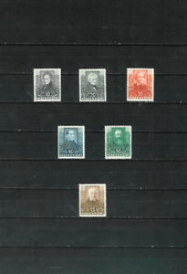 Austria-Scott-B93-98-Complete-Set-of-Six-Stamps-Mint-Hinged-OG-F-VF-1931