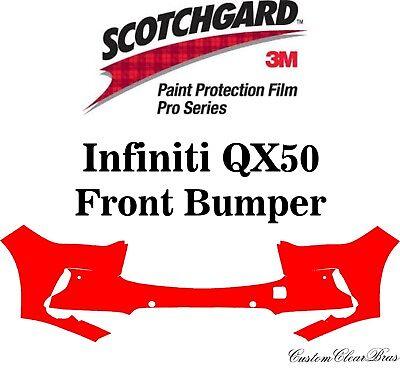3M Scotchgard Paint Protection Film Pro Series Fits 2019 2020 Infiniti QX50