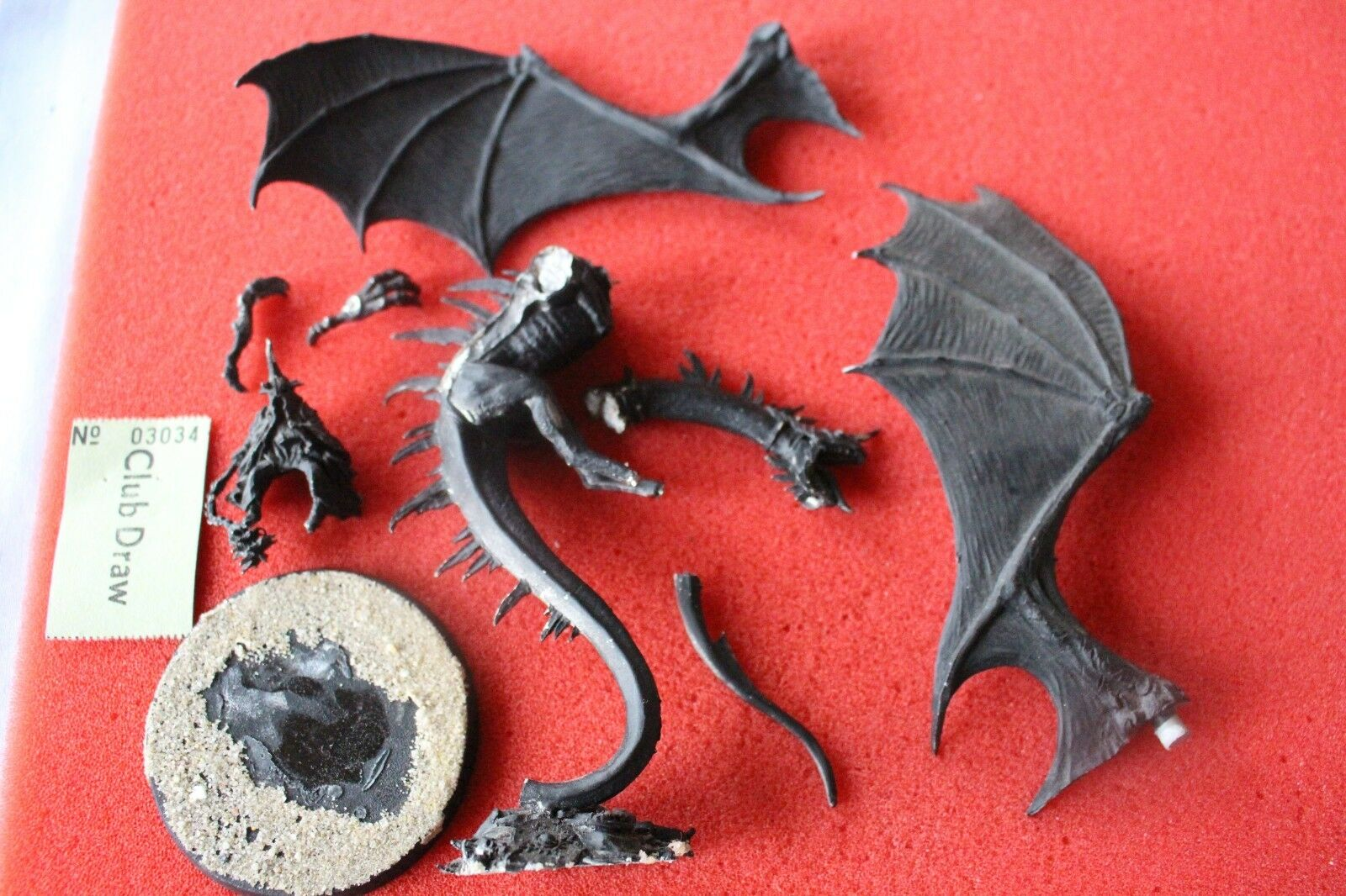Games Workshop Lord of the Rings Witch King sur Fell Beast Metal Figure LOTR GW