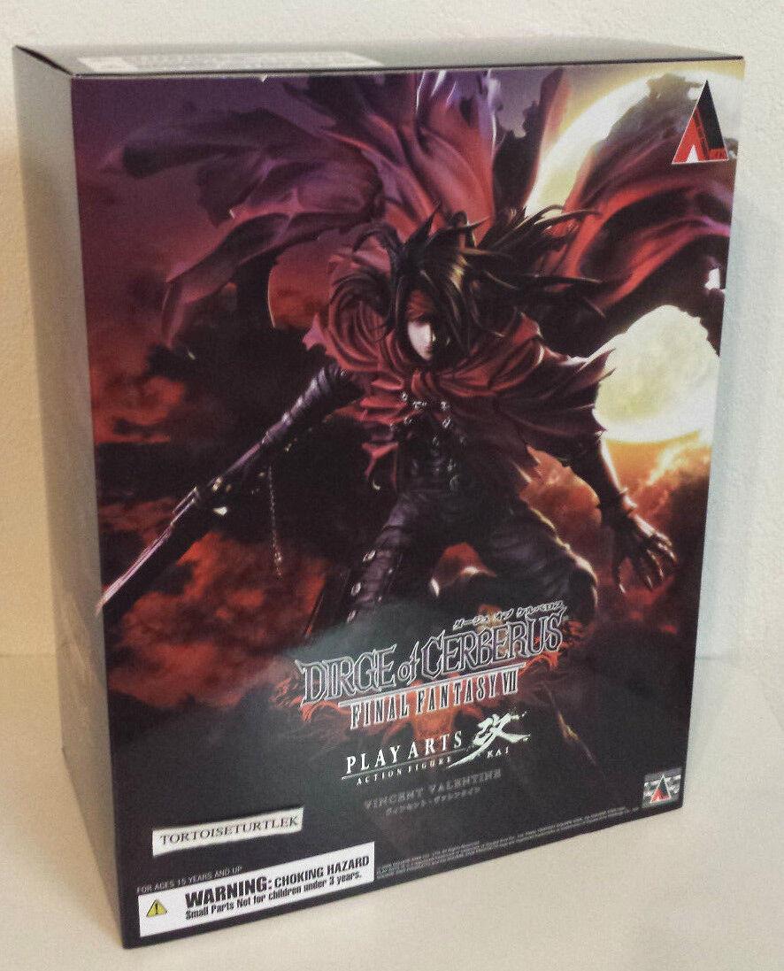 Dirge of Cerberus Final Fantasy VII Play Arts Vincent Valentine Action Figure
