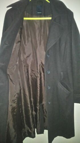 Brown L 4 30 3 Size Wool 40 70 Moda Womens Chest polyester Vero Coat Inch tqUxa0wfnB