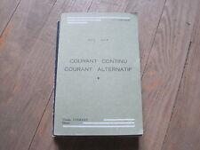 J.P. LONGCHAMP: Courant continu courant alternatif