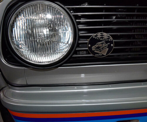 Weltmeister,North America s BMW 2002 Tii Badge