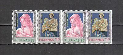 Übersee :5895 Eine GroßE Auswahl An Farben Und Designs Philippinen Michelnummer 1637-1638 Zsdr Gestempelt