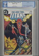 New Teen Titans V2 #1  Annual  PGX 9.9 Mint  1984 : Price Drop!