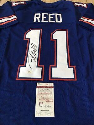 brand new 2dc8c aad58 Jordan Reed Autographed/Signed Jersey JSA COA Florida Gators Washington  Redskins | eBay