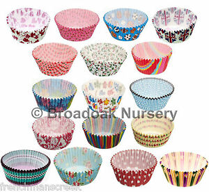 60-PATTERNED-CUPCAKE-CASES-Fairy-Cake-Bun-Muffin-Flat-fee-delivery-just-2-60