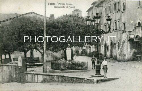 CARTOLINA LABICO - ROMA - VIAGGIATA 1923