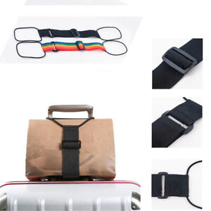 Add-A-Bag-Luggage-Strap-Jacket-Gripper-Straps-Baggage-Suitcase-Belts-Travel-new